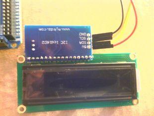 4-Pin I2C LCD Display