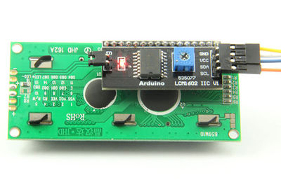 4-Pin I2C LCD Display