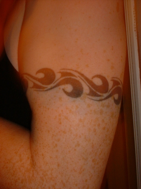 Arm Band tattoo. arm band celtic band tattoo